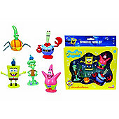 Spongebob Squarepants 5 Figure Set