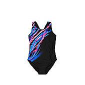 F&F Light Flash Print Swimsuit - Multi