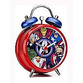 Marvel Avengers Mini Twinbell Alarm Clock