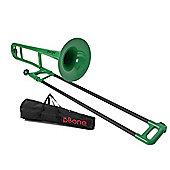 pBone Plastic Trombone - Green
