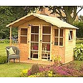 8ft x 8ft Tongue & Groove Summerhouse 8 x 8 Garden Wooden Summerhouse