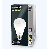 Pack Of Five Integral E27 10W Warm White Globes