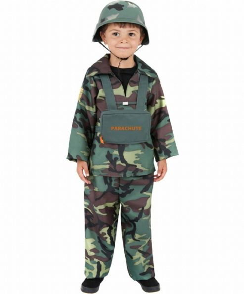 Army Boy - Child Costume 6-7 years
