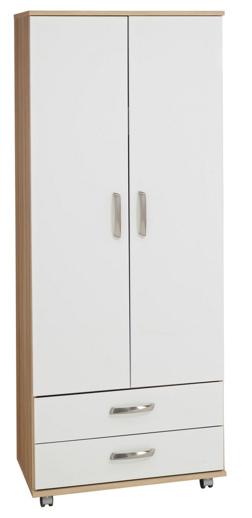 Ideal Furniture Regal 2 Door Wardrobe