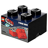 Lego Movie Storage Brick 4 Black