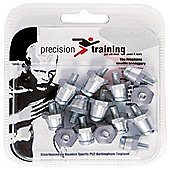 Precision Training Match Pro Football Studs - 17mm - Bag 100