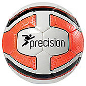 Precision Santos Midi Training Ball White/Fluo Orange