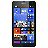 Tesco Mobile Microsoft Lumia 535 Orange