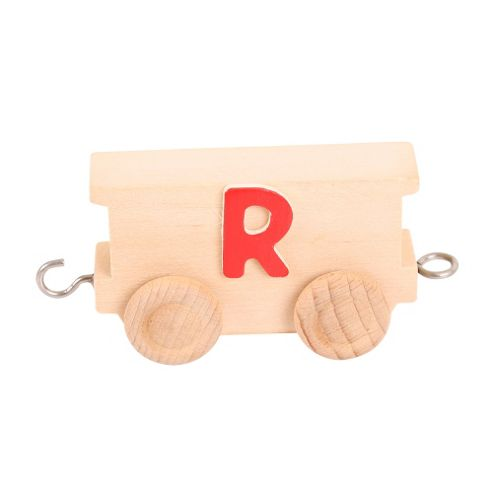Bigjigs Toys BJ201R Name Train Letter R