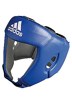Adidas AIBA Competition Boxing Headguard - Blue
