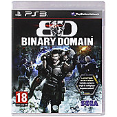 Binary Domain - Limited Edition - PS3