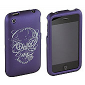 Lucky Brand Peace Skull iPhone 3G case