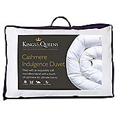 Kings & Queens Cashmere Indulgence Duvet, Single, 10.5 Tog