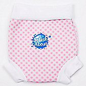 Splash About Happy Nappy X Large (Pink Gingham)