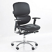 Ergonomics 4 Work Wave Full Leather Chair - Without Headrest