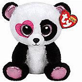 TY Beanie Boo Plush - Mandy the Valentines Panda