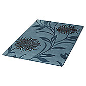Ultimate Rug Co Floral Art Thistle Blue Rug - 160 cm x 230 cm (5 ft 3 in x 7 ft 6.5 in)