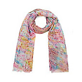 Pastel Watercolour Light Summer Scarf