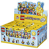Lego The Simpsons Series 2 - Minifigures Mystery Bag - 60 Pack Bundle