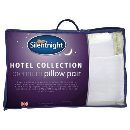 Silentnight Hotel Collection Premium Pillow 2 pack