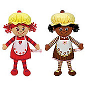 "Little Miss Muffin 9"" Duo Pack Little Miss Cherrie And Little Miss Chip"