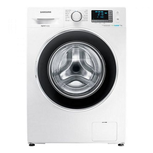 buy samsung wf70f5ebw4w 1400rpm a rated 7kg eco bubble washing machine in white from our. Black Bedroom Furniture Sets. Home Design Ideas
