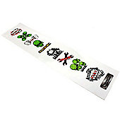 Madd Gear Scooter Sticker Strip 1