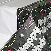 Time to Party Plastic Tablecloth