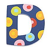 Tatiri Spots & Stripes Letter D (Spots)