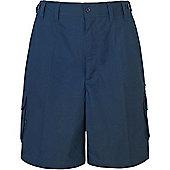 Trespass Mens Gally Multi Pocket Cargo Shorts - Navy
