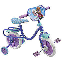 "Disney Frozen 10"" Kids' Bike with Stabilisers"