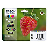 Epson Claria 29XL Ink Cartridge - Inkjet - High Yield - 4 / Pack