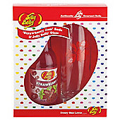 Jelly Belly Soda & Printed Jelly Belly Glass
