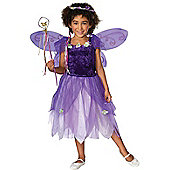 Child Plum Pixie Costume