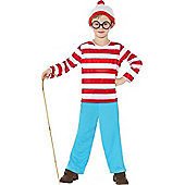 Fancy Dress - Boys Where's Wally Child - Large (each)
