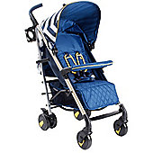 My Babiie MB51 Stroller (Blue Chevron)