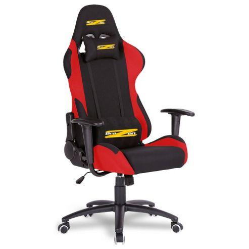 Buy BraZen Shadow PRO Racing PC Gaming Chair Black Red