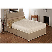 Vogue Beds Natural Touch Pocket Tranquility 1000 Platform Divan Bed - Small Double / 4 Drawer