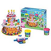 Peppa Pig Birthday Cake Dough Set