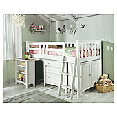Harvey Sleep Station Right Hand Ladder, Natural White