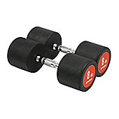 Bodymax Pro V3 Rubber Dumbbells - 8kg