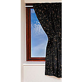 Clevamama BedTime Black Out Blind Travel, Sticks Anywhere - Black