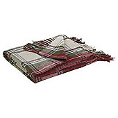 Tesco Tartan Throw, Multicoloured