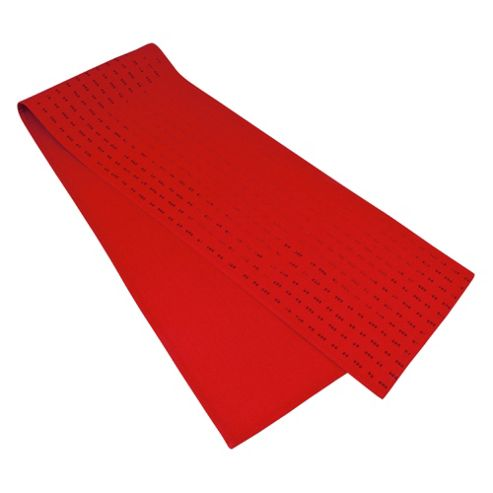 Tesco Sequin Table Runner, Red