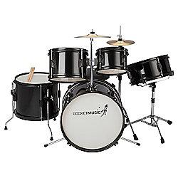 Stagg TIM J 5 Piece Junior Drum Kit - Black