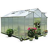 Nison EaZi-Click 10X8 Greenhouse, Silver