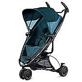 Quinny Zapp Xtra 2 Black Frame Stroller Blue Denim