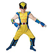 Child Wolverine Costume (Deluxe) Large