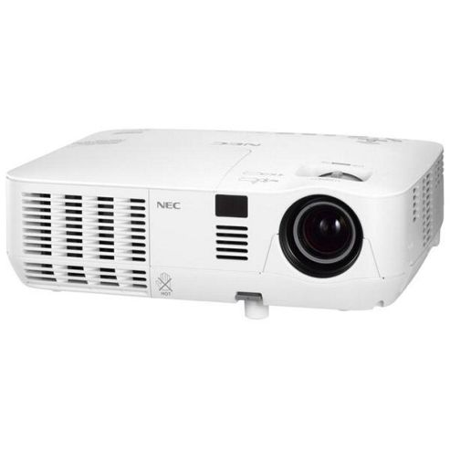 NEC V260W Mobile (3D Ready) DLP Projector 2000:1 2600 Lumens 1280x800 2.5kg (Networked)