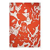 Esprit Energize Orange Woven Rug - 120 cm x 170 cm (3 ft 11 in x 5 ft 7 in)